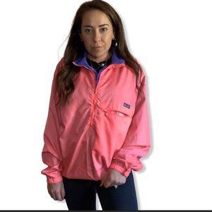 Patagonia Vintage Windbreaker Pink Jacket M